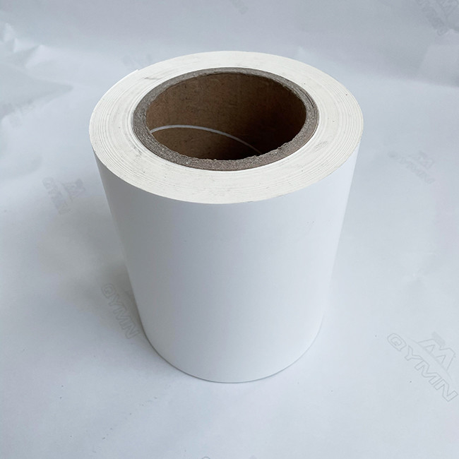 140G White Glassine Liner 1080mm Strong Adhesive Labels